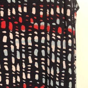 Medina Navy Red White & Blue Maxi Dress w/ pockets